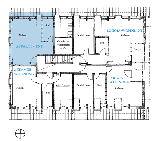 plan Appartment